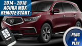 acura MDX remote start plug and play kit