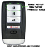 Honda Odyssey Remote Start for 2014 - 2017 - Plug & Play - PUSH START