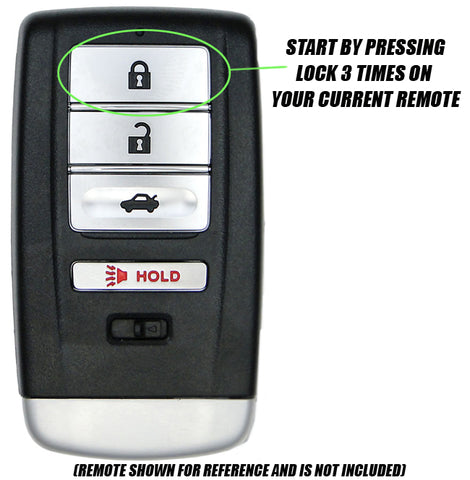 Acura MDX Remote Start for 2014 - 2018 - Plug & Play - PUSH START