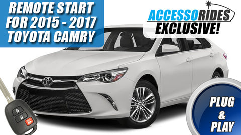 2015 2016 2017 Toyota Camry Remote Starter Plug & Play