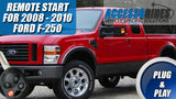 Ford Superduty F-250 Remote Starter