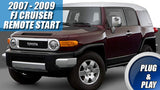 FJ Cruiser remote starter kit plug & play
