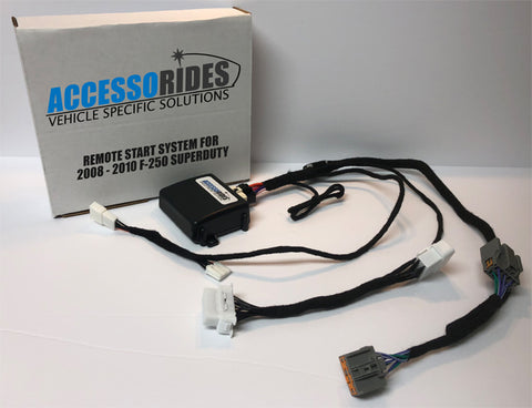 Ford F-250 Remote Start Kit