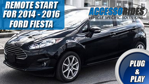 Ford Fiesta Remote Start Plug & Play 2014- 2016