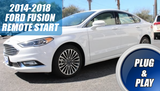 2014 - 2018 Ford Fusion Remote Start Kit Plug & Play