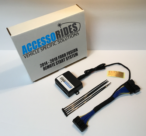 Ford Fusion Remote Start Kit Plug & Play