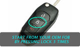Ford Fusion Remote Start From OEM Key 3x Lock Plug & Play