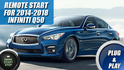 Infiniti q50 remote start plug play kit