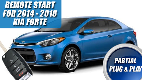 Kia Forte Remote start plug & play