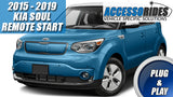 2015 - 2019 KIA Soul Remote Start Kit Plug & Play - KEY START ONLY