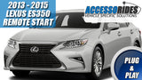 2013 2014 2015 Lexus ES350 Remote Start Plug & Play