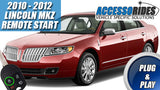 2010 2011 2012 Lincoln MKZ Remote Start Plug & Play