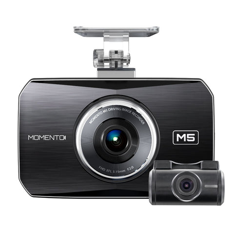 Momento M5 best dash camera cam HD