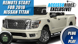 Nissan Titan Remote Start 2018 Plug & Play
