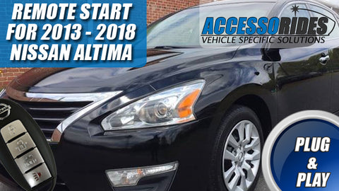 Nisan Altima Remote Start 2013 - 2018