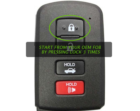 Toyota RAV4 Remote Start Plug & Play Kit for 2019 Push Start