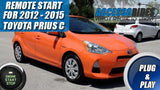 2012 - 2015 Prius C Remote Start Plug & Play