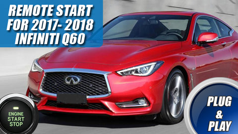 2017 2018 Infiniti Q60 Remote Start Plug And Play