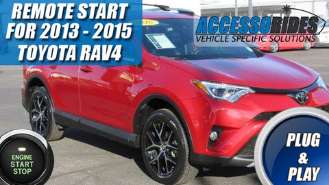 2013 - 2015 Toyota RAV4 Remote Start Plug & Play