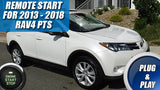 2013 - 2018 Toyota RAV4 Remote Start Plug Play