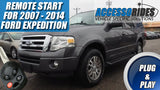 2007 - 2014 Ford Expedition Remote Start