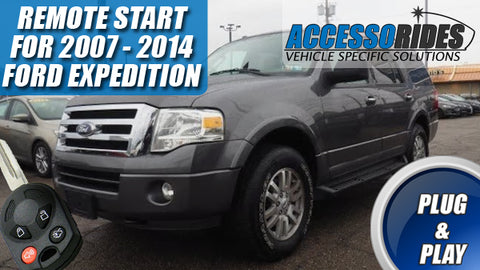 remote start for ford expedition 2007 2014 plug \u0026 play key start