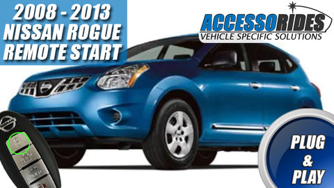 2008 - 2013 Rogue Intelligent Key Remote Start