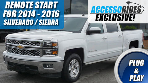 Silverado plug and play remote start kit