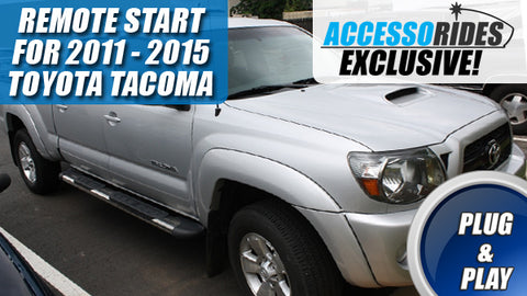 Toyota Tacoma Remote Start 2011 - 2015 G-Key Plug & Play