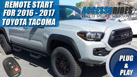Toyota Tacoma Remote Start 2016 - 2017 H-Key