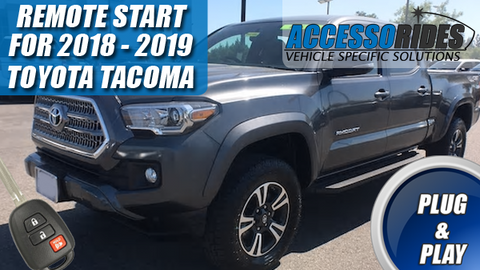 Toyota Tacoma Remote Start 2018 - 2019 H Key