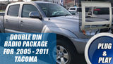 Aftermarket Radio Installation Package for 2005 - 2011 Toyota Tacoma - 100% Plug & Play