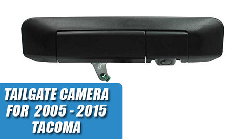 Tailgate Reverse Backup Camera for 2005 - 2015 Toyota Tacoma