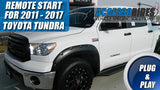2011 - 2017 Toyota Tundra Remote Start Plug & Play