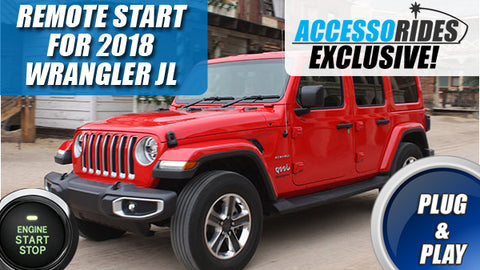 2018 Jeep Wrangler JL Remote Start Plug & Play