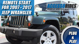 Jeep Wrangler Remote Start Plug & Play 2007 - 2017