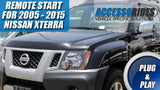 Plug & Play remote start for nissan xterra