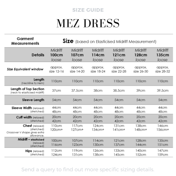 The Mez Dress