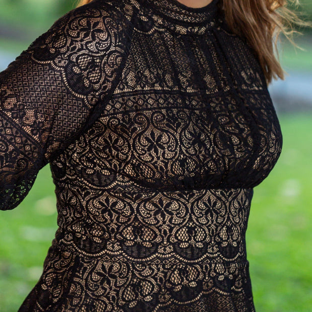 Victorian Style Lace Top