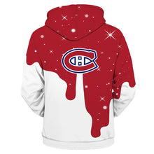 Load image into Gallery viewer, Montreal Canadiens 3D Hoodie