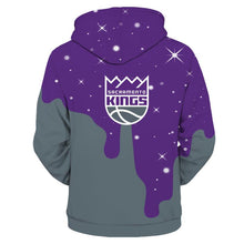 Load image into Gallery viewer, Sacramento Kings 3D Hoodie