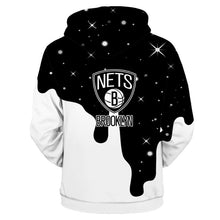 Load image into Gallery viewer, Brooklyn Nets 3D Hoodie