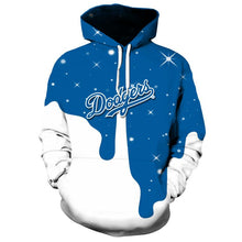Load image into Gallery viewer, Los Angeles Dodgers 3D Hoodie