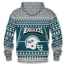Load image into Gallery viewer, Philadelphia Eagles 3d Hoodie Christmas Edition