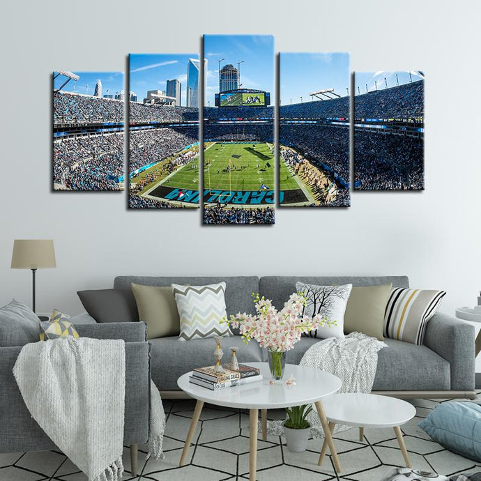 Carolina Panthers Stadium Canvas 4