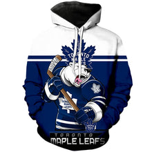 Load image into Gallery viewer, Toronto Maple Leafs 3D Hoodie