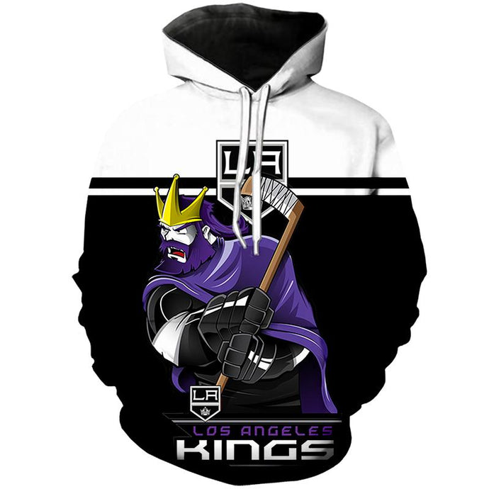 Los Angeles Kings 3D Hoodie