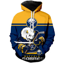 Load image into Gallery viewer, Buffalo Sabres 3D Hoodie
