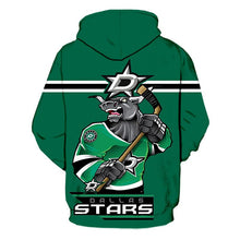 Load image into Gallery viewer, Dallas Stars 3D Hoodie