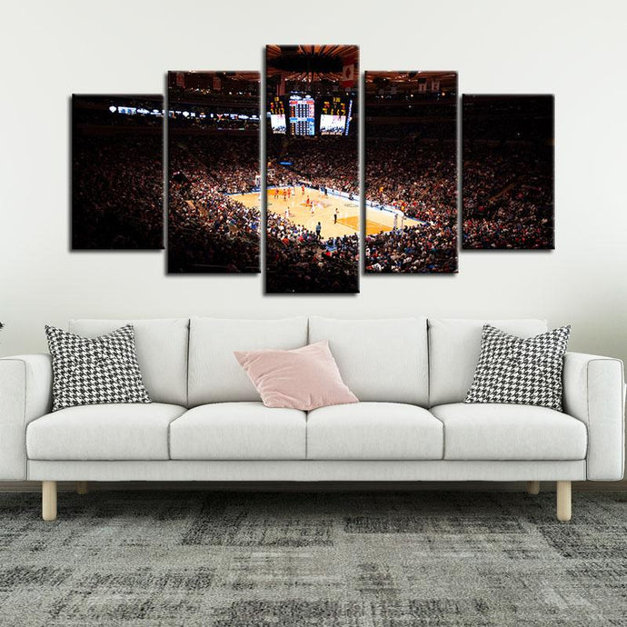 New York Knicks Stadium Canvas 3